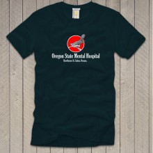 Oregon State Mental Hospital Bleu Marine